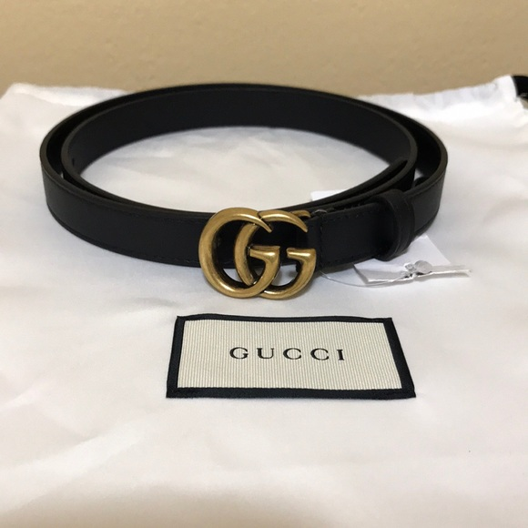 4627ae914 Gucci Accessories | Marmont Belt Black Size 9036 | Poshmark